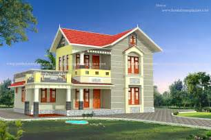 House Model Photos by 3bhk Keralahouseplanner