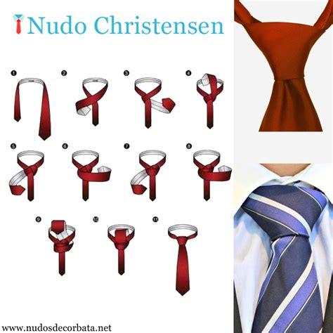 como hacer el nudo de corbata nudo de corbata christensen como se hace paso a paso r 225 pido