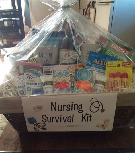 Nursing School Gifts For Friends - graduation gift basket everything a new will