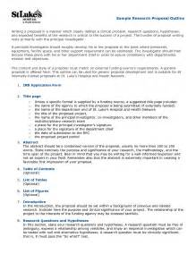 Thesis Proposal Outline Pics Photos Sample Research Proposal Outline Writing A