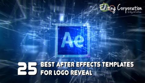 25 Best After Effects Templates For Logo Reveal Photo Reveal After Effects Template