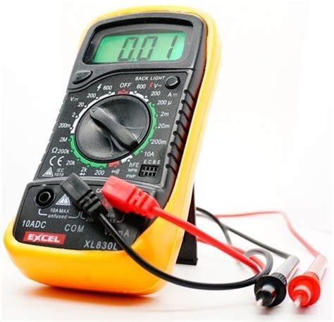 Best Quality Ac Digital Voltage Meter digital voltmeter ammeter ohmmeter multimeter volt ac dc tester meter xl 830l us