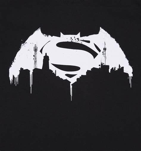 Tshirt Batman Logo Black B C s black batman v superman graffiti logo t shirt