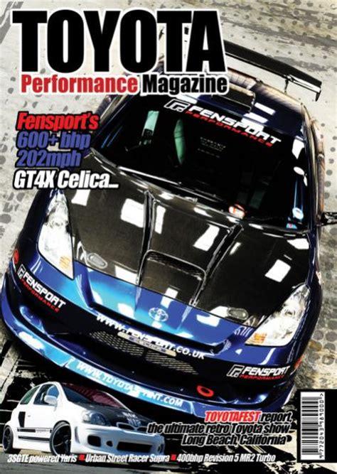 Toyota Magazine Toyota Performance Magazine Issue 1 Twos R Us
