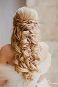 Curly Half Up Half Hairstyles Wedding Hairstyles Half Up Half Tulle