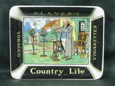 shop stuff  advertising ashtray players country