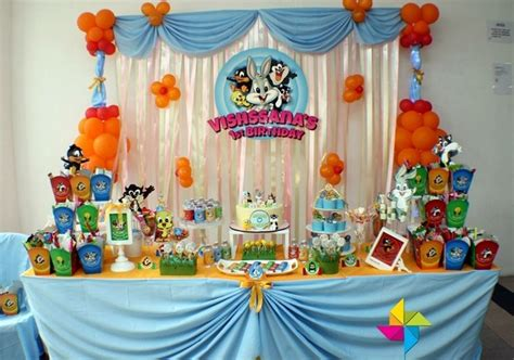 cartoon themes for birthday parties creative candy table design ideas with cartoon theme for