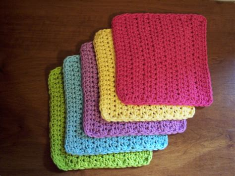 free beginner double basket weave face cloth knitting pattern simple and practical dish cloth crochet pattern stitch11
