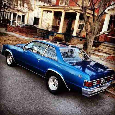 1979 chevy malibu classic 2 door buy used 1979 chevrolet malibu classic coupe 2 door 5 7l