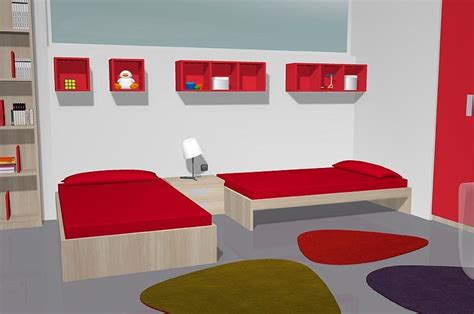 habitaciones juveniles con dos camas habitaci 243 n juvenil con un lio armario de 4 puertas