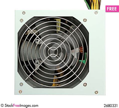 computer power supply fan computer power supply with fan free stock images
