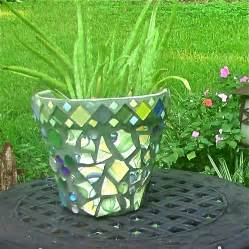 Small Outdoor Plant Pots My Mosaic Pot Mickies Blooming Garden Home