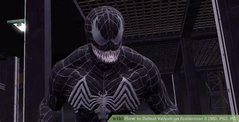 Alpha Venom 3 White Black how to defeat venom on 3 360 ps3 pc 4 steps