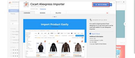 aliexpress chrome extension cs cart aliexpress dropshipping product importer order
