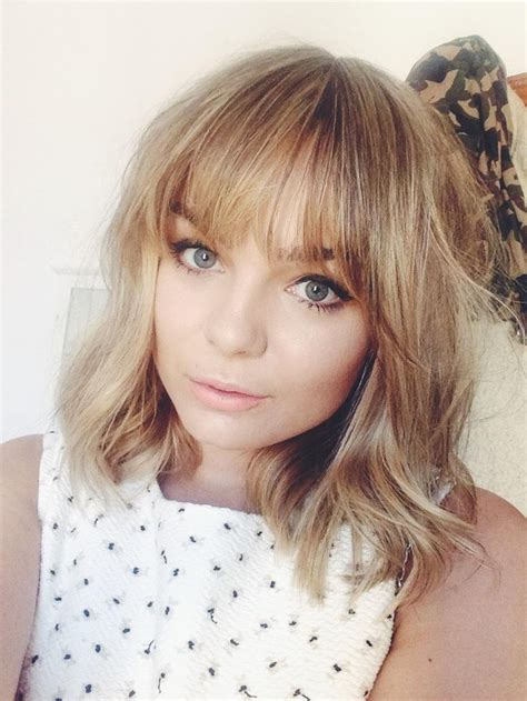 long bob with fringe 1000 images about short cuts on pinterest jenna