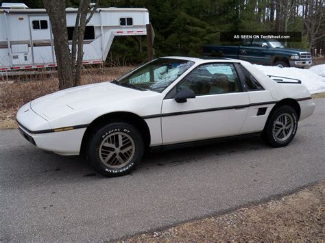 1984 Pontiac Fiero by 1984 Pontiac Fiero 2 5l 2m4 4 Speed Manual Condition