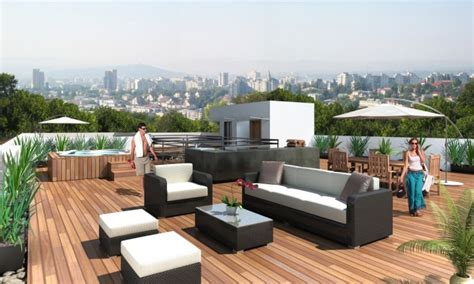How To Make Deck Stairs by 27 Roof Garden Design Ideas Inspirationseek Com