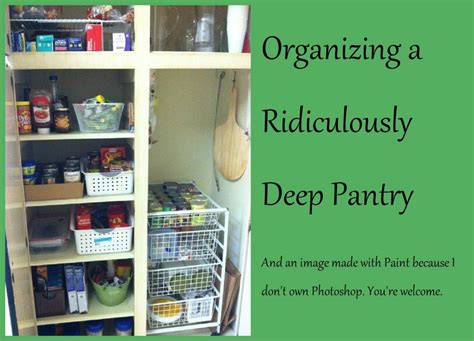 how deep is a pantry cabinet kitchen storage ideas for deep cabinets home