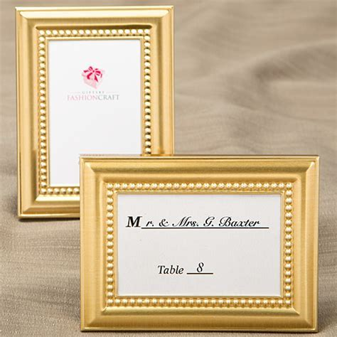 Decorative Shiny Gold Picture Frames With Beaded Border