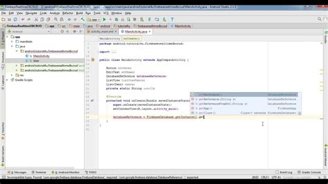 tutorial firebase android studio android firebase realtime database crud tutorial android