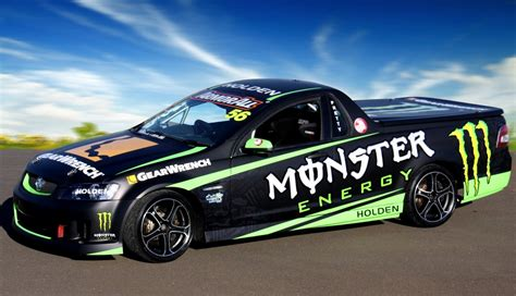 monster energy drinks supports prettys ute speedcafe
