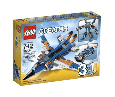 Set 7 In 1 my lego style lego creator thunder wings 31008
