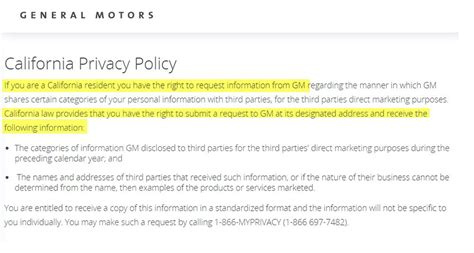 california privacy policy template sle privacy policy template privacypolicies