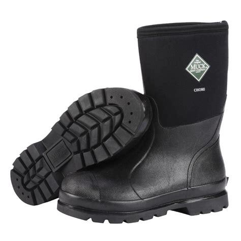 the muck boot company the muck boot company chore mid black mid length work