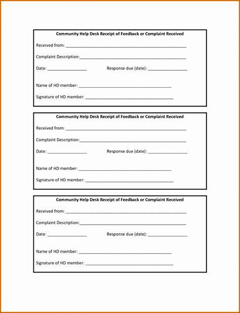 receipt walkthrough template 4 free receipt templates sletemplatess