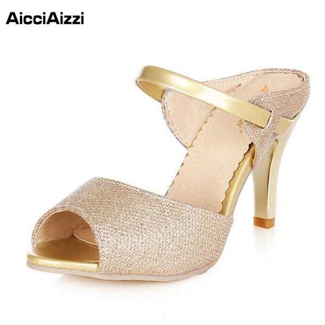 beautiful sandals aicciaizzi high heel sandals gold sliver ankle wrap