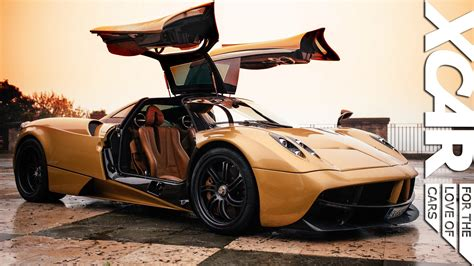 pagani huayra gold pagani huayra art emotion technology youtube