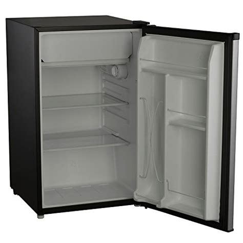 Fridge In Cold Garage by Whirlpool 4 3 Cu Ft Stainless Steel Compact Refrigerator