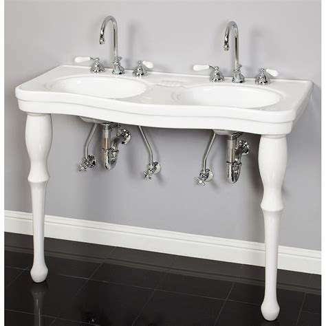 console bathroom sink 100 console bathroom sinks cheviot 1230 19 wh 1 575