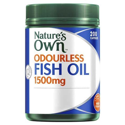 Diskon Nature S Own Odourless Fish 1500mg 200 Kapsul buy nature s own fish 1500mg odourless 200 capsules at chemist warehouse 174