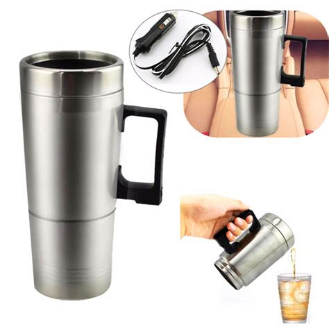 12v 300ml portable in car coffee maker tea pot vehicle