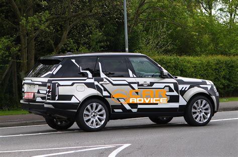 luxury car news reviews spy shots photos and videos range rover spy shots reveal body of new luxury suv