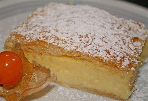 kroatische kuchen cremeschnitten mit pudding rezept mit bild brisane