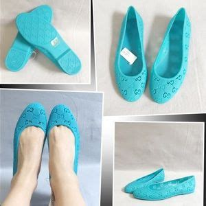 43 gucci shoes rubber jelly flats size 29 from