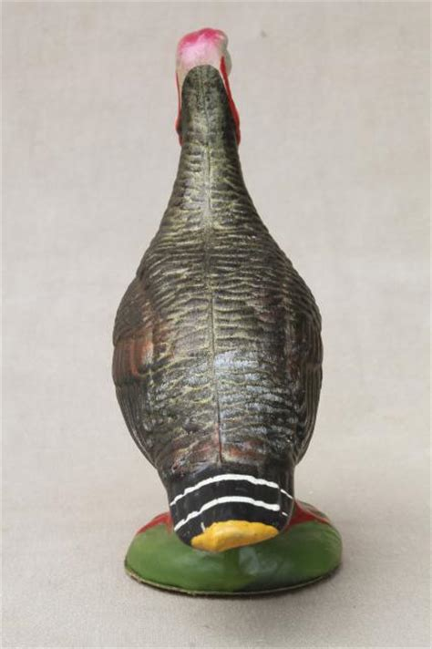 How To Make A Paper Mache Turkey - vintage germany papier mache container