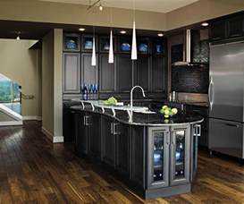 Grey Cabinets In Kitchen dark grey kitchen cabinets by decora cabinetry