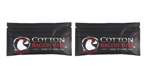 Cotton Bacon V2 By Wick N Vape Authenthic Kapas Vape Vapor 2 01 authentic wick n vape cotton bacon bits v2 cotton wick for e cigarettes 2 pack 2 pack