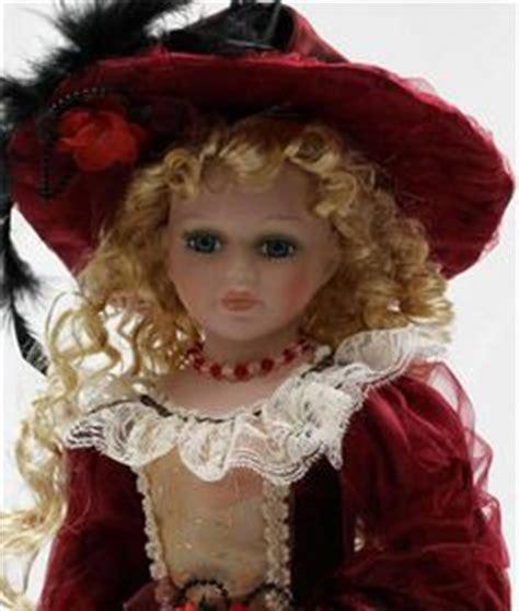 j a designs porcelain dolls pretty porcelain 17 inch doll in 20 inch wood by j a
