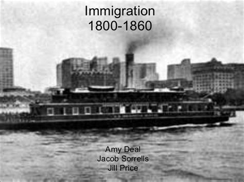 immigration boats 1800s immigration steamboat