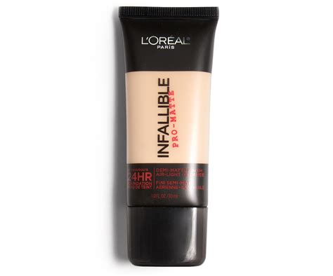 l oreal infallible pro matte foundation beautezine