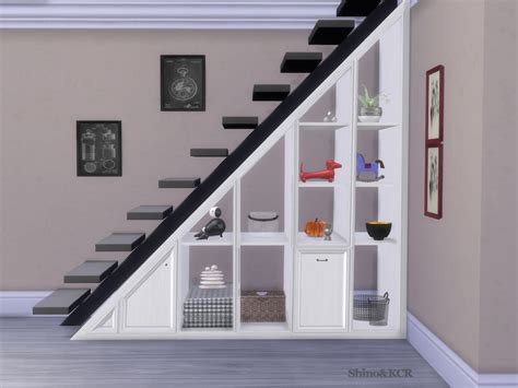 shinokcr s stair shelves and deco spiralstair