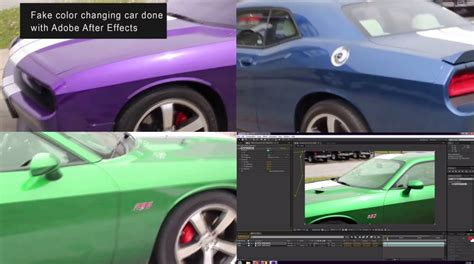 debunked paramagnetic paint color changing cars hoax after effects metabunk