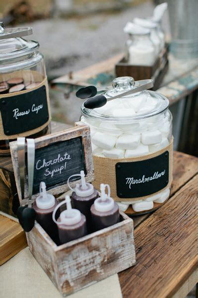 Wedding S?more Bar Ideas ? Water mouthing Dessert Bar