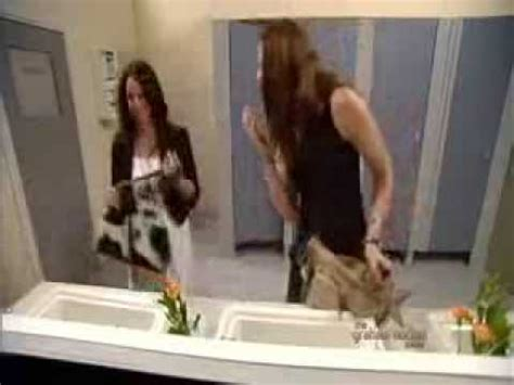 bathroom mirror prank womens bathroom mirror prank
