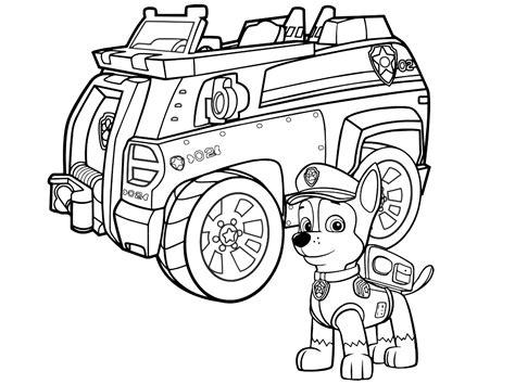 paw patrol super spy chase coloring pages dibujos de la patrulla canina para colorear paw patrol