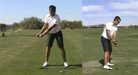 side view golf swing backswing